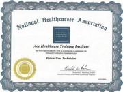 National Heathcareer Association's healthcare certification