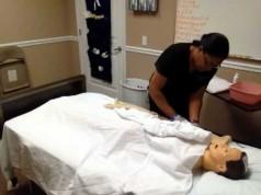 Critical Skills Test partial bed bath